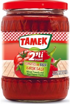 Tamek Domates - Biber Salça 580 gr