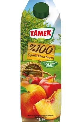 Tamek %100 Şeftali - Elma Suyu 1000 cc