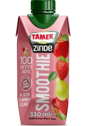 Tamek Zinde Smoothie Elma - Armut - Çilek 330 cc