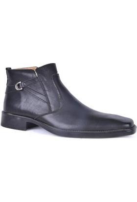Nazar Erkek Kauçuk Taban Kışlık Bot Ayakkabı