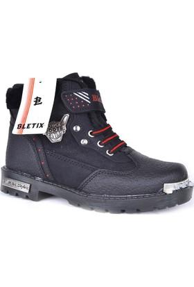 Bletix Ft Termal Kürklü Erkek Çocuk Motor Kışlık Bot Ayakkabı