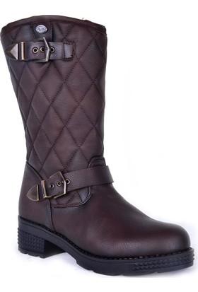 M.P 172-6128 Termal Kadın Uzun Kar Botu Ayakkabı