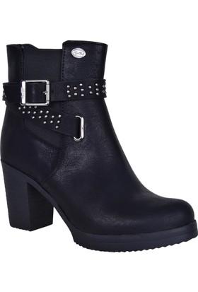 M.P 172-6126 Topuklu Kadın Kışlık Bot Ayakkabı