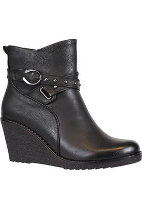 Nstep 2068 Zn Termal Dolgu Topuk Kadın Kışlık Bot Ayakkabı