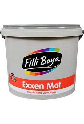 Filli Boya Exxen Mat Silikonlu Silinebilir Boya 7,5 Lt Beyaz