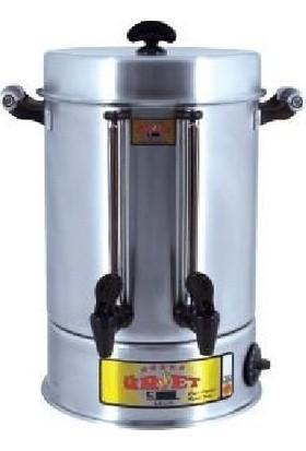 Çay Makinası Elektrikli 30 Bardak 4Lt Ofis Büro Ev Tipi Mini