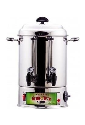 Çay Makinası Elektrikli 50 Bardaklık 6 Lt Çaymatik İnox