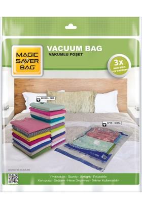 Magic Saver Bag 7'li Vakumlu Poşet Seti (2 L + 2 XL + 2 XXL + 1 JUMBO)