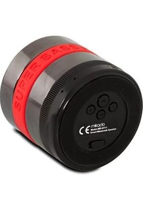 Mikado MD-BT11 Kırmızı TF Kart+FM Destekli Bluetooth Şarjlı Speaker