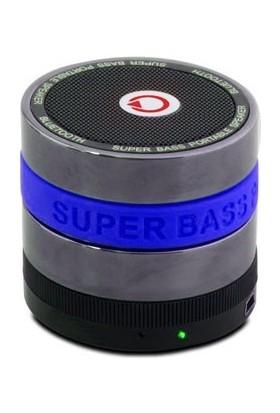 Mikado MD-BT11 Mavi TF Kart+FM Destekli Bluetooth Şarjlı Speaker
