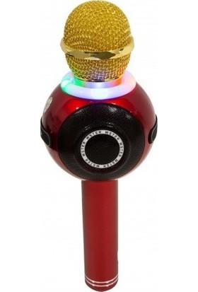 Technostyle Şık Tasarımlı Disko Topu Wireless Karaoke Mikrofon