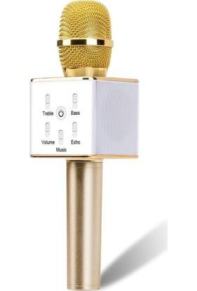 Buffer Sihirli Karaoke Bluetooth Hoparlörlü Mikrofon Q7