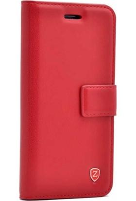 Teleplus Samsung Galaxy J8 Cüzdanlı Kılıf Kırmızı