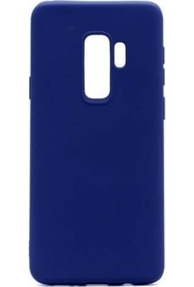 Teleplus Samsung Galaxy J8 Lüks Silikon Kılıf Lacivert + Nano Ekran Koruyucu