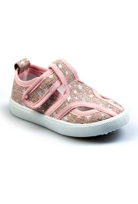 Flubber Kız Keten Ayakkabı Pembe 22034-394