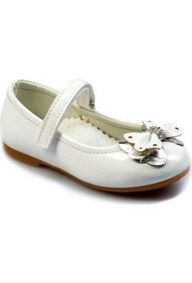 Flubber Babet Ayakkabı KIz Çocuk Beyaz 22044-002