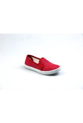 Flubber Kız Erkek Keten Ayakkabı Fuşya 22300-017