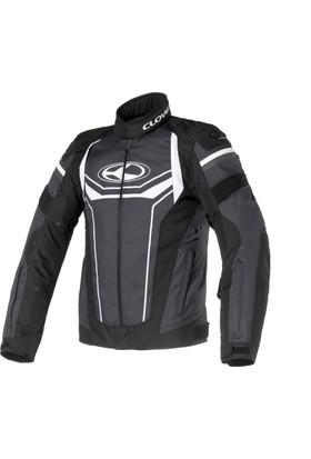 Clover Airblade-3 Kısa Siyah/Beyaz Ceket