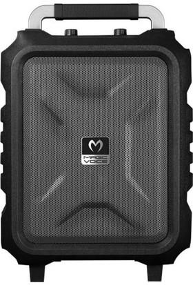Magicvoice Mv-2015 30W Taşınabilir Toplantı Ve Mevlüt Anfisi Bluetooh/Usb/Sd Şarjlı