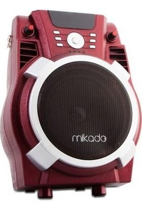 Mikado MD-72FM Kırmızı Usb-SD-Fm Destekli Öğretmen/ Toplantı Anfisi