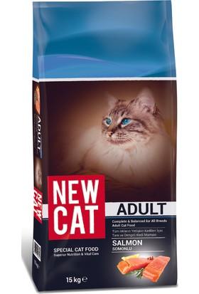 Newcat Somonlu Yetişkin Kedi Maması 15 Kg