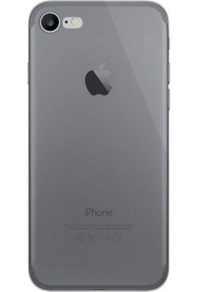 Case 4U Apple iPhone SE 2020 / iPhone 8 / iPhone 7 Kılıf Ultra İnce Silikon Füme