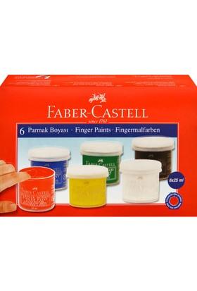 Faber-Castell Parmak Boyası 6 Renk