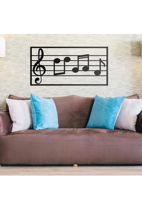 Deccort Musical Note Metal Tablo