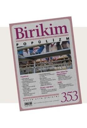Birikim Sayı 353 Eylül