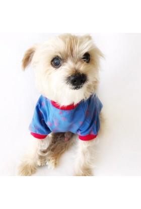 Kemique Martı Desen Oval Yaka Tişört Summer T By Köpek Elbisesi