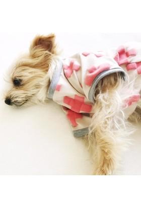 Kemique Pınk Cross Oval Yaka Tişört Summer T By Köpek Elbisesi
