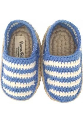 Pacco Baby Mavi Çizgili Espadril