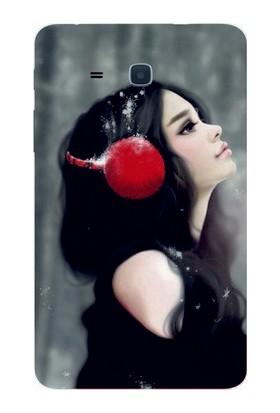 GoGo Samsung Galaxy Tab 3 Lite T110/T113/T116 Huzur Baskılı Silikon Kılıf