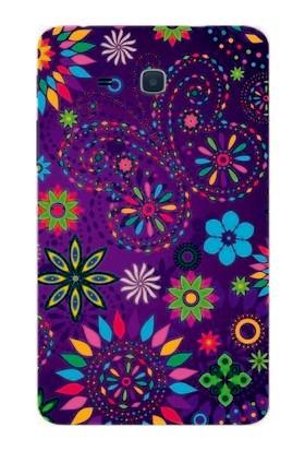 GoGo Samsung Galaxy Tab 3 Lite T110/T113/T116 Desen Baskılı Silikon Kılıf