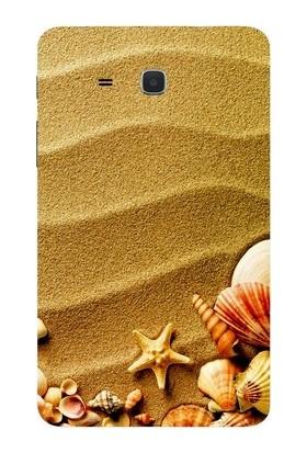 GoGo Samsung Galaxy Tab 3 Lite T110/T113/T116 Deniz Yıldızı Baskılı Silikon Kılıf