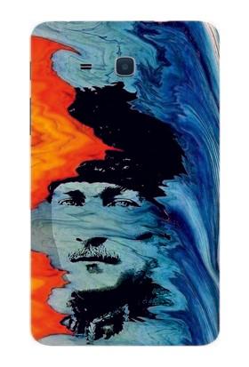 GoGo Samsung Galaxy Tab 3 Lite T110/T113/T116 Atatürk Baskılı Kılıf