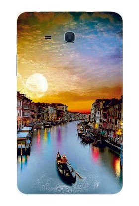 GoGo Samsung Tab T280 Manzara Gün Batımı Silikon Kılıf