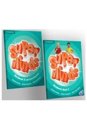Cambridge Super Minds 3 Students Book and Workbook with Online Resources
