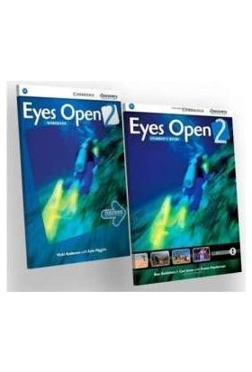 Cambridge - Eyes Open 2 Students Book and Workbook With Online Practice