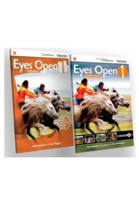 Cambridge - Eyes Open 1 Students Book and Workbook With Online Practice