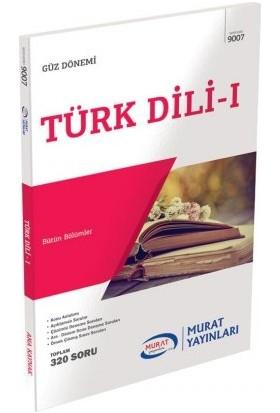 Murat Yayınları Açıköğretim Güz Dönemi Türk Dili 1 9007