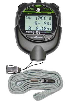 Mad Wave Kronometre Stopwatch 100 Memory,