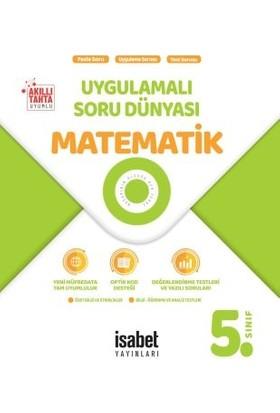 İsabet Yayınları 5. Sınıf Matematik Uygulamalı Soru Dünyası