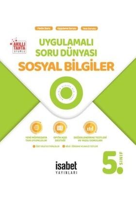 İsabet Yayınları 5. Sınıf Sosyal Bilgiler Uygulamalı Soru Dünyası