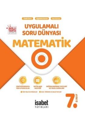 İsabet Yayınları 7. Sınıf Matematik Uygulamalı Soru Dünyası