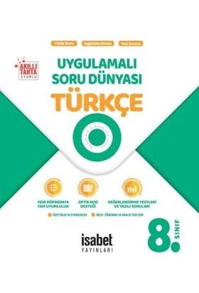 İsabet Yayınları 8. Sınıf Türkçe Uygulamalı Soru Dünyası