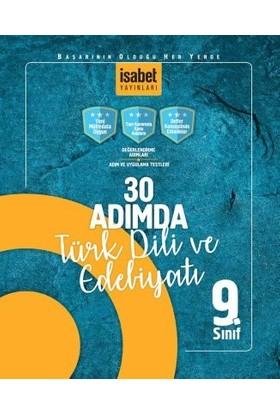 İsabet Yayınları 9. Sınıf 30 Adımda Türk Dili Ve Edebiyatı