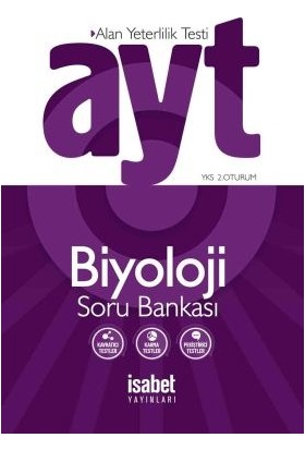 İsabet Yayınları Ayt Biyoloji Soru Bankası