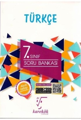 Karekök 7. Sınıf Türkçe Soru Bankası Yeni - Meltem Ünal