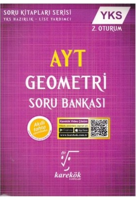 Karekök Yks Ayt Geometri Soru Bankası 2. Oturum Yeni - Muharrem Duş